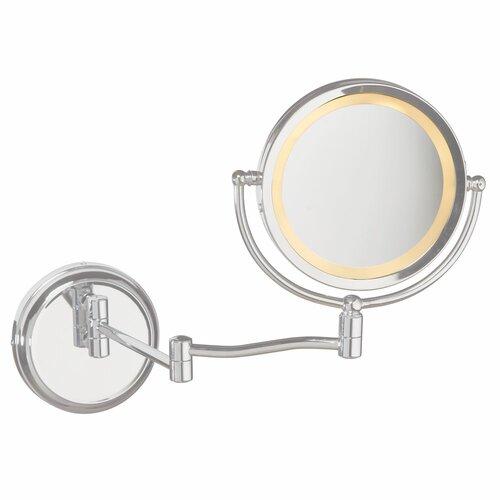 Dainolite 1 Light Magnifier Mirror
