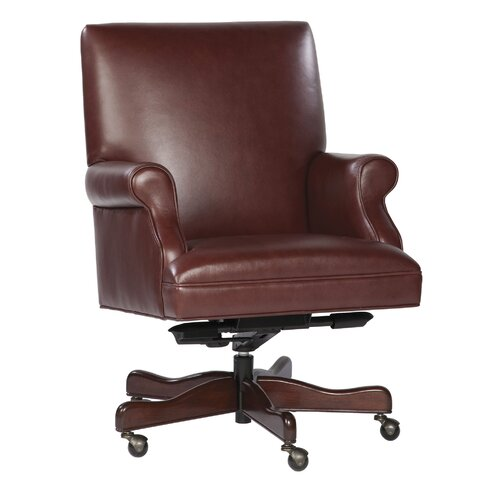 Hekman Leather Executive Office Chair