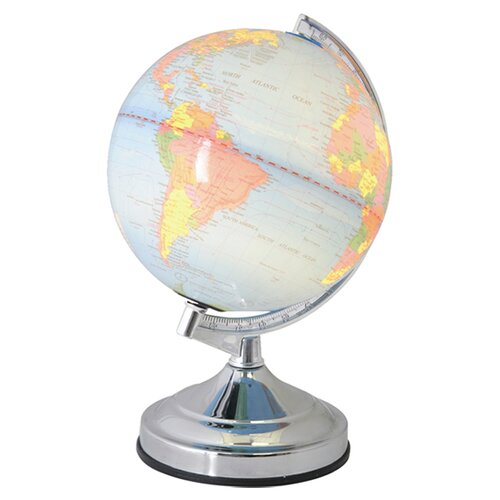 Bedroom Lamps Tesco: House Additions World Globe Table Lamp & Reviews