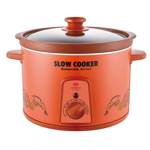Sunpentown 5.3-Quart Slow Cooker
