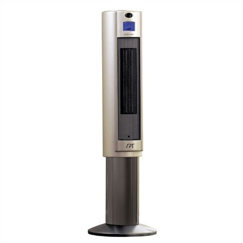 1,500 Watt Ceramic Tower Space Heater with Ion