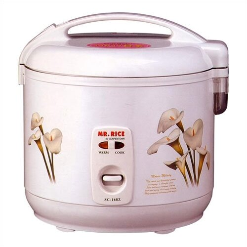 Sunpentown 6-Cups Rice Cooker