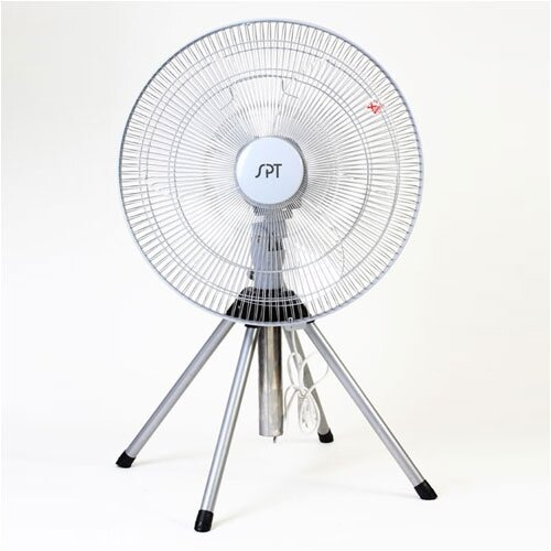 "Sunpentown 18"" Oscillating Floor Fan"