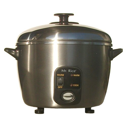Sunpentown 6-Cup Rice Cooker and Steamer