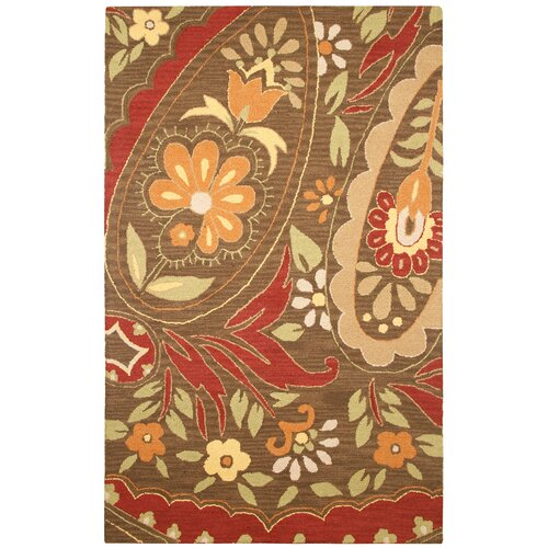 Country Multi/Red Bubblerary Rug