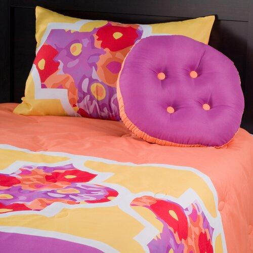 Kids Lattice 3 Piece Comforter Set
