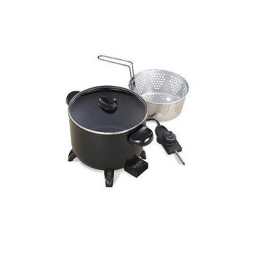 Presto Control Master Kitchen Kettle-Electric Multi-Cooker/Steamer