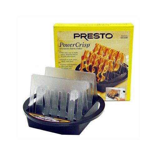 Presto power crisp microwave bacon cooker reviews wayfair for Decor bacon cooker