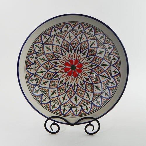 "Le Souk Ceramique Tabarka Design 14"" Serving Bowl"