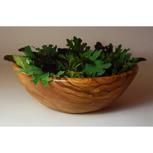 Olive Wood Salad Bowl Olive Wood Salad Bowl