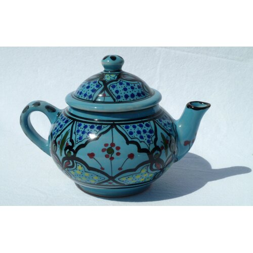 Le Souk Ceramique Sabrine Design 0.75-qt. Teapot