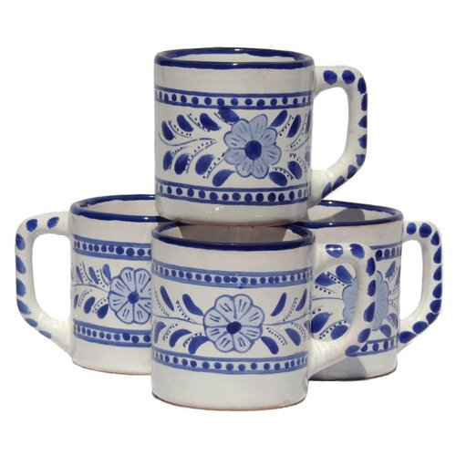 Le Souk Ceramique Azoura Design 12 oz. Coffee Mug
