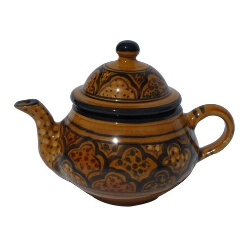 Le Souk Ceramique Honey Design 0.75-qt. Teapot