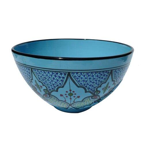 """Le Souk Ceramique Sabrine Design 12"""" Bowl"""