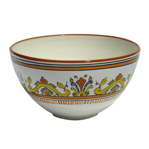 """Le Souk Ceramique Sauvage Design 12"""" Bowl"""