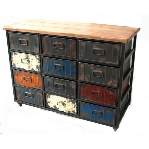 Paintbox Large 12 Drawer Cabinet