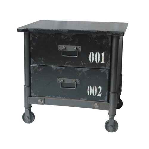 Soho 2 Drawer Cabinet