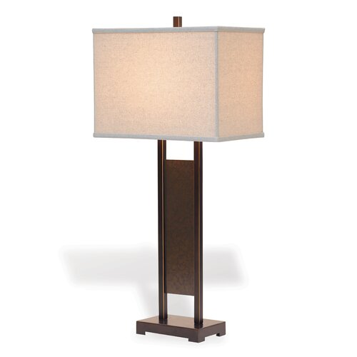 "Port 68 Avenue 36"" H Table Lamp with Drum Shade"