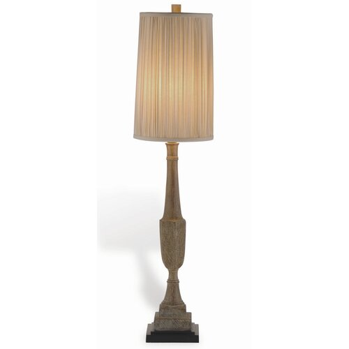 "Port 68 Amsterdam Buffet 33"" H Table Lamp with Empire Shade"