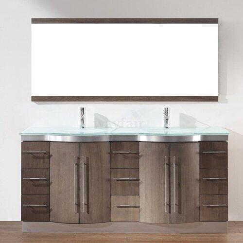Bauhaus Bath Dinara 72 Quot Double Bathroom Vanity Set With