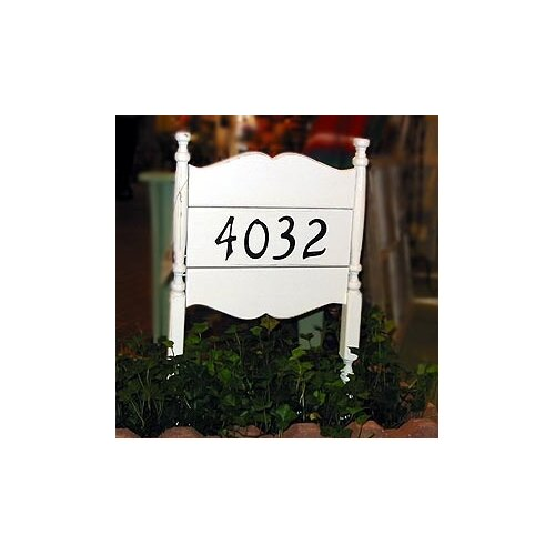 Uwharrie Chair Uwharrie House Address Sign