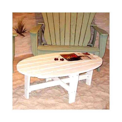 Uwharrie Chair Wave Conversation Coffee Table