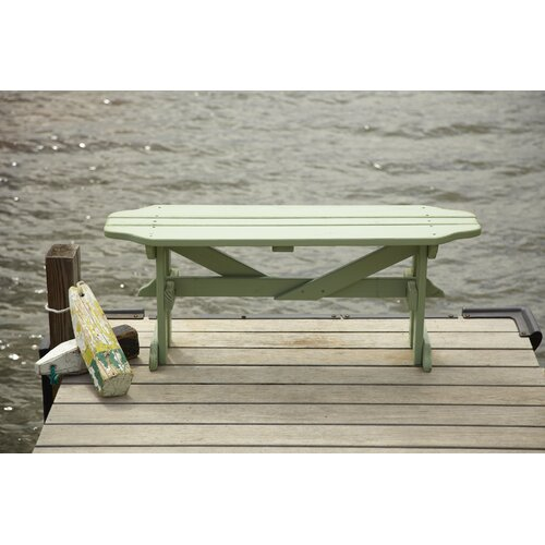 Uwharrie Chair Harvest Wood Picnic Bench