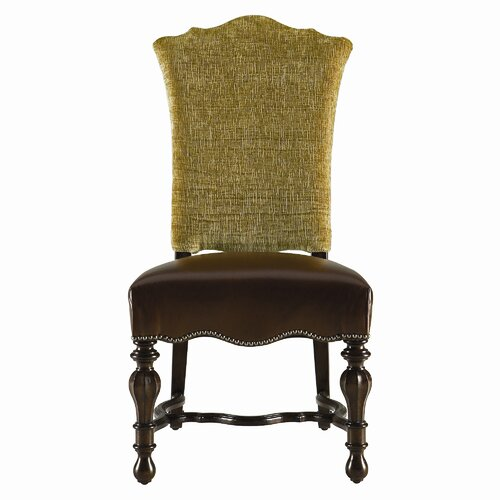 Grand Continental Padrona Leather Side Chair