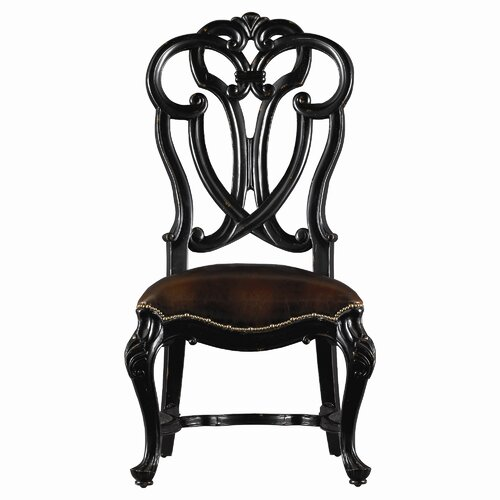 Costa Del Sol Messalina's Blessings Leather Side Chair