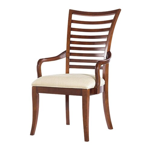 Hudson Street Slat Back Arm Chair