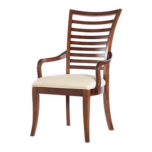 Hudson Street Slat Back Arm Chair (Set of 2)