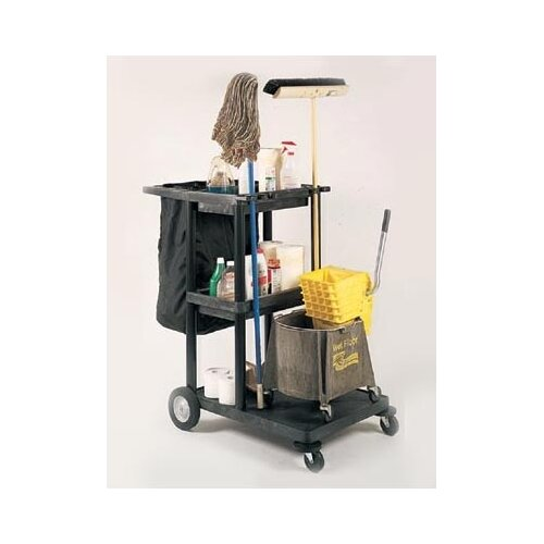 "Luxor 48"" Janitor Cart"