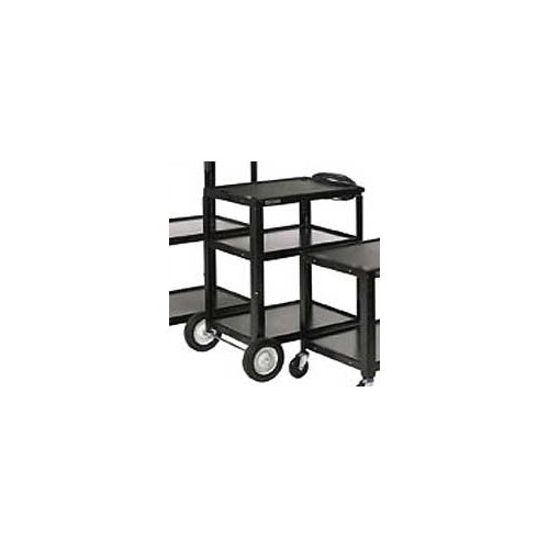 Luxor High Open Shelf AV Cart