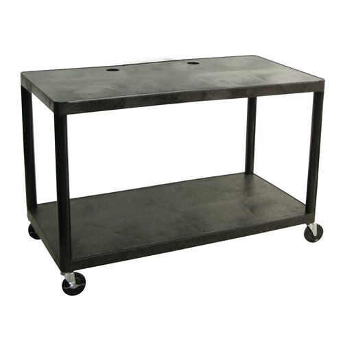 Luxor Two Shelf Extra Wide Computer Workstation: Designed for Early Childhood Applications