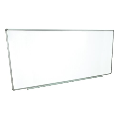 "Luxor Wall-mounted 3' 4"" x 8' Whiteboard"
