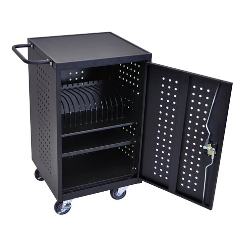 Luxor 16-Compartment Charging Cart
