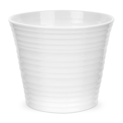 Portmeirion Sophie Conran White Round Flower Pot Planter