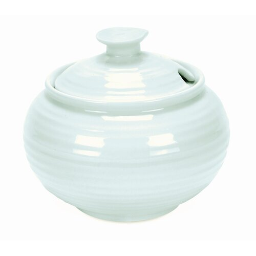 Portmeirion Sophie Conran Celadon 11 oz. Sugar Bowl with Lid