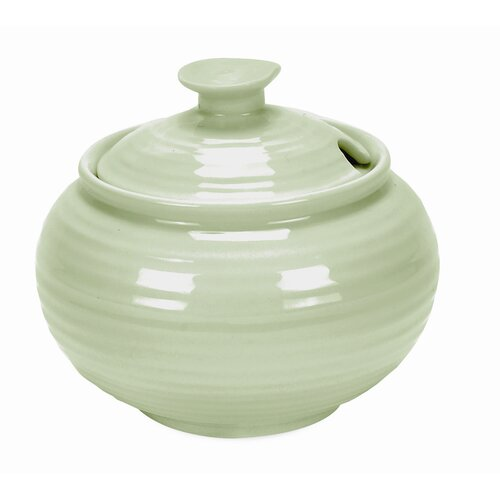 Portmeirion Sophie Conran Sage 11 oz. Sugar Bowl with Lid