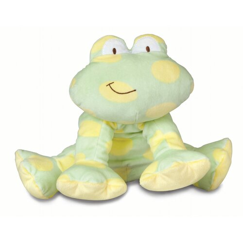 Asthma and Allergy Friendly Spotted Froggie Plush