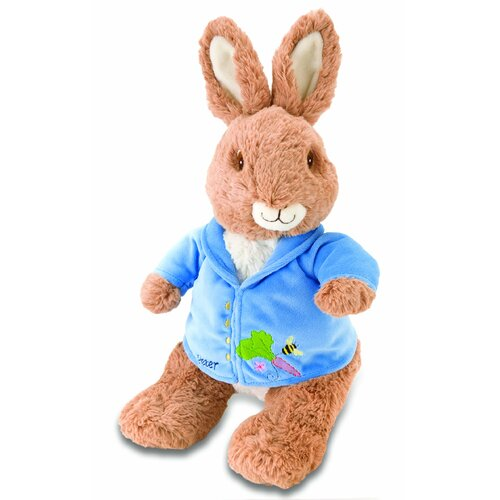 Peter Rabbit Plush with Embroidered Applique