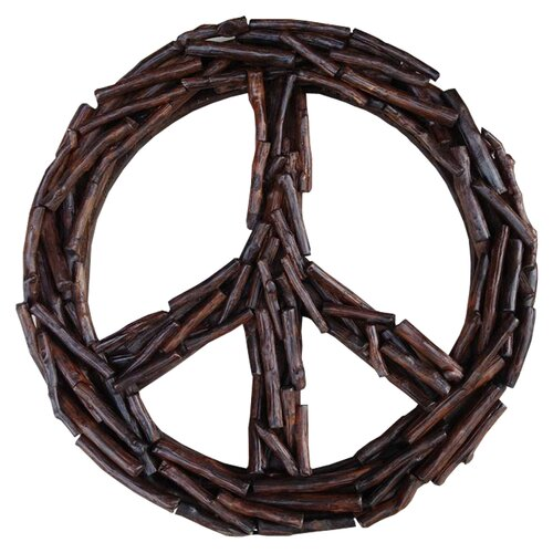 Groovystuff Chris Bruning Antares Peace Sign Wall Décor