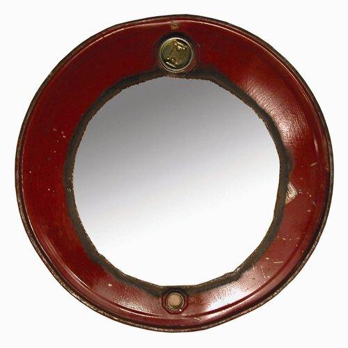 Moonshine Steam Punk Barrel Mirror