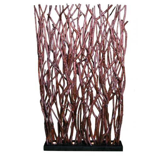 "Groovystuff 71"" x 39"" Woodlands Base Lit Room Divider"