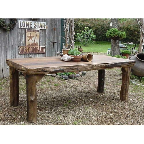 Groovystuff Rocky Mountain Ranch House Dining Table