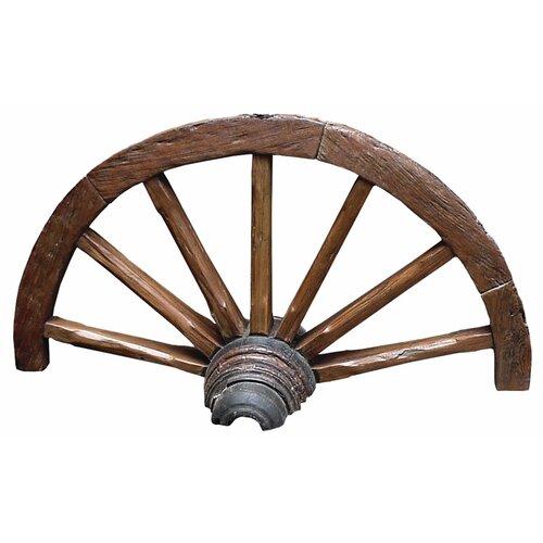 Dry Gulch Wagon Wheel Statue