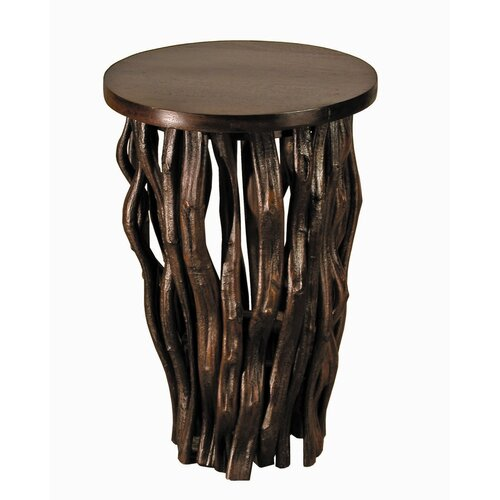 Back to the Roots Time Revealed End Table