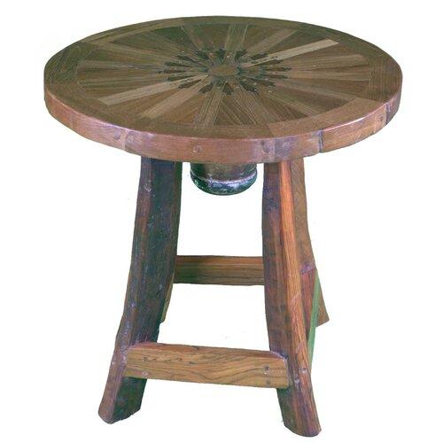 Groovystuff Prairie Cattle Baron's Side Table