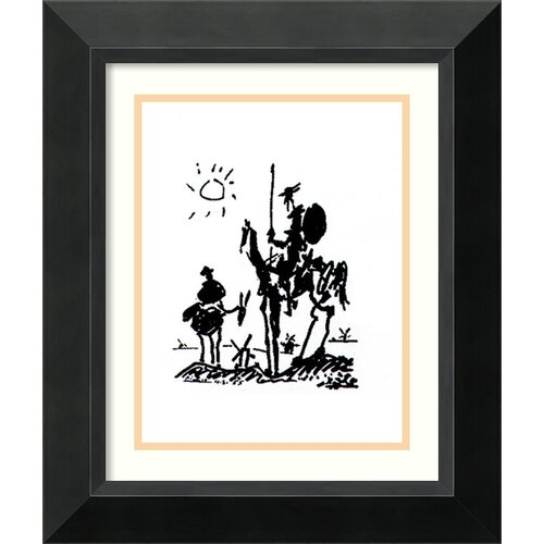 Amanti Art 'Don Quixote' by Pablo Picasso Framed Graphic Art