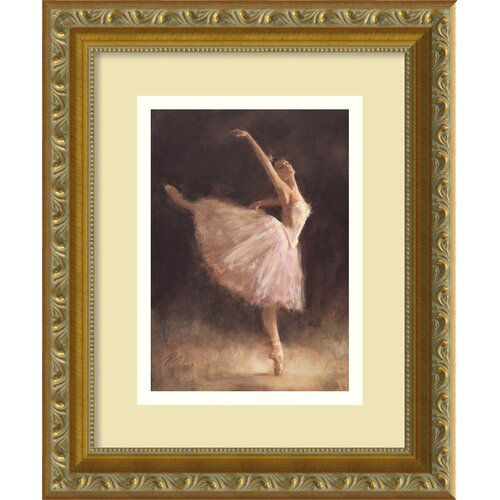 'The Passion of Dance' by Richard Judson Zolan Framed Painting Print